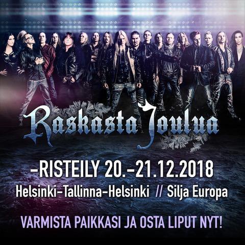 raskasta joulua 2018 helsinki liput V2.fi | Raskasta Joulua  kiertue huipentuu risteilyyn raskasta joulua 2018 helsinki liput
